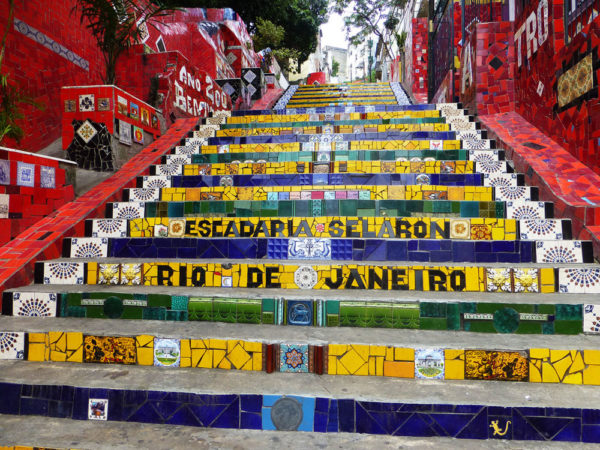 5-days-itinerary-in-Rio-de-Janeiro-Escadaria-Selarón