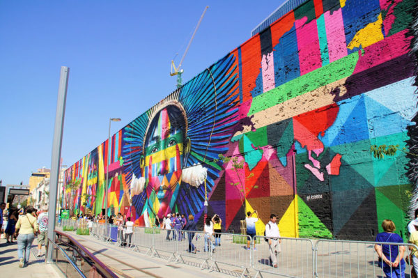 5-days-itinerary-in-Rio-de-Janeiro-Grafite-Kobra