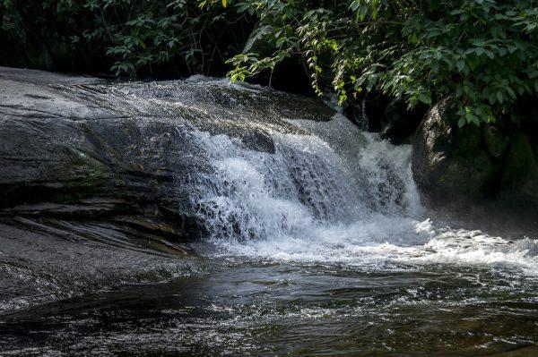 Cachoeira Tobogã do Tarzan
