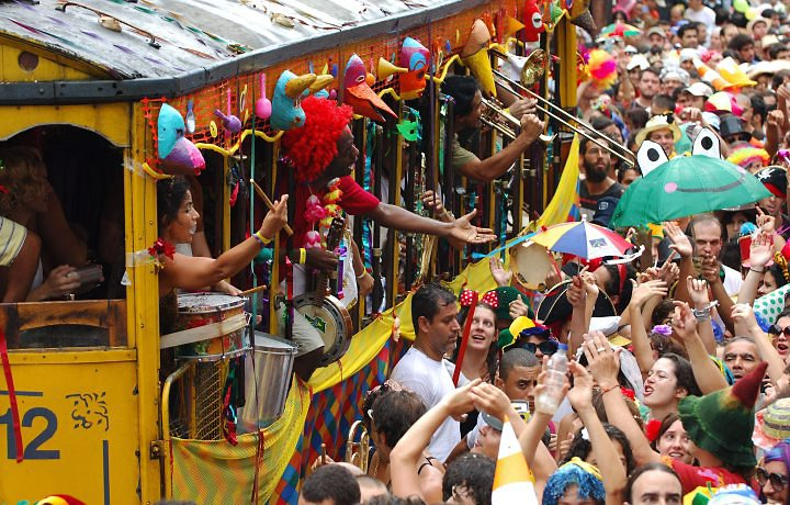 Carnaval in Rio de Janeiro – 2020