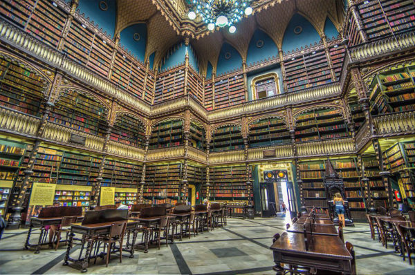 REAL GABINETE PORTUGUÊS DE LEITURA – ONE OF THE MOST BEAUTIFUL LIBRARIES IN THE WORLD