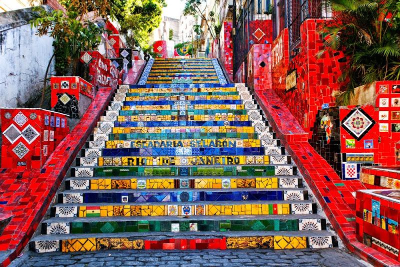 Escalera Selarón Río de Janeiro