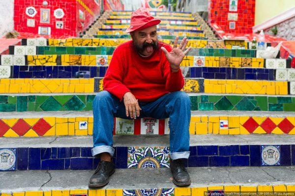 Escalera Selarón Río de Janeiro - Free Walker Tours