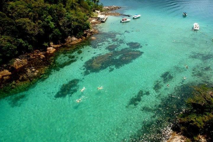 Lagoa Azul of Paraty